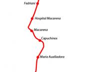 Tramo prioritario de la Linea 3