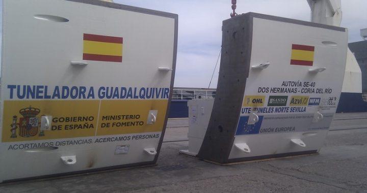 Comienzan a llegar las tuneladoras de la SE-40