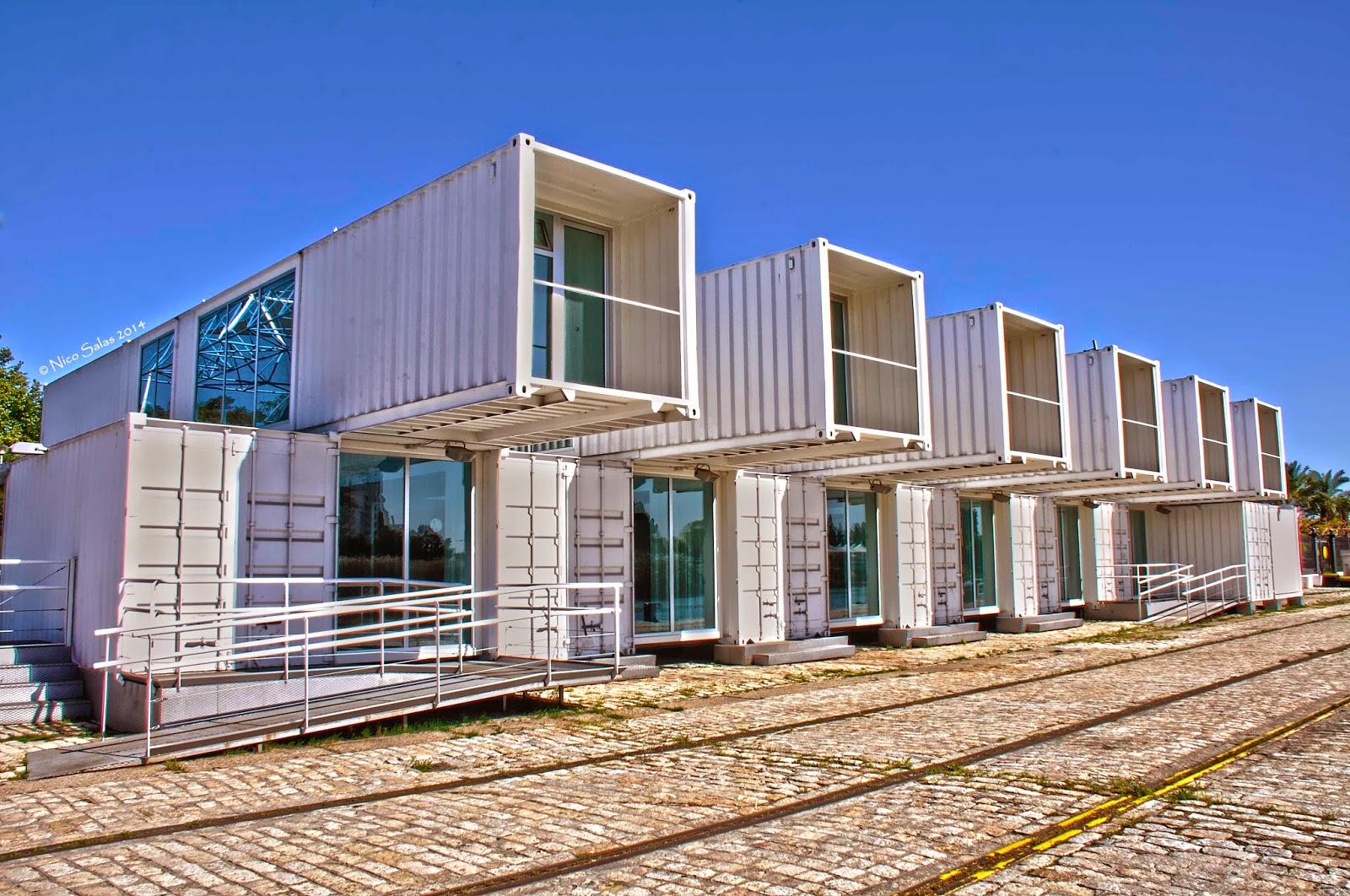 Container art un nuevo espacio cultural sevilla21 for Arquitectura modular