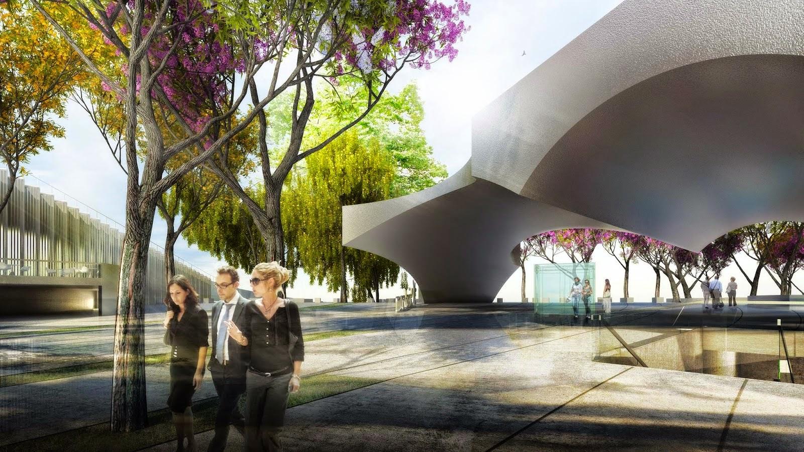 El 3 de marzo se inauguran el Caixaforum y el Parque Fernando de Magallanes
