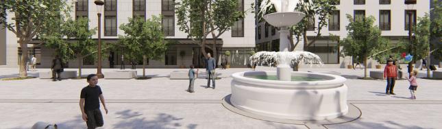 Peatonalización de la Plaza de la Magdalena